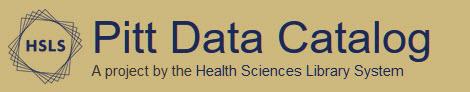 PItt Data Catalog