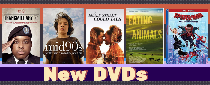 May 2019 new DVDs cover art