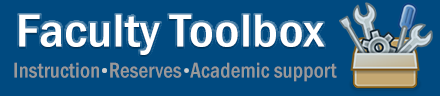 Faculty Toolbox
