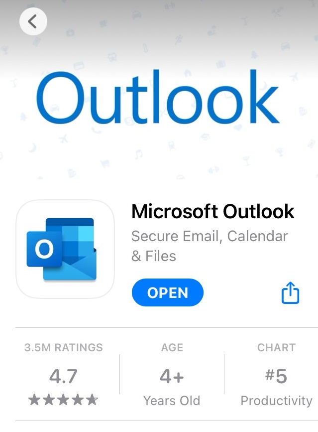 Open in app store