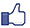 thumbs up facebook icon