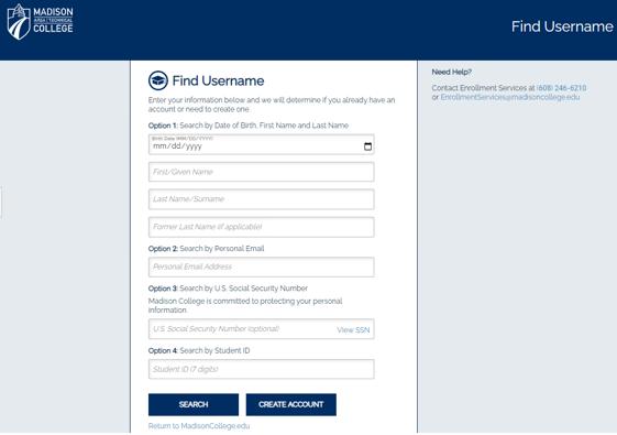 find username