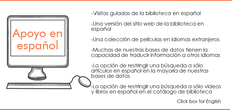 Library support in Spanish