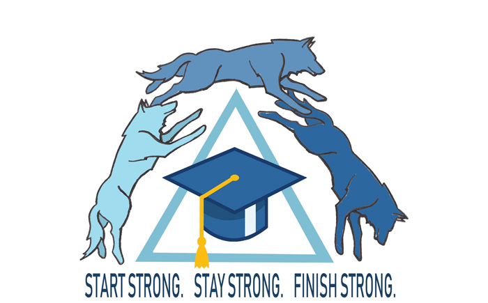 Start Strong. Stay Strong. Finish Strong. Wolves