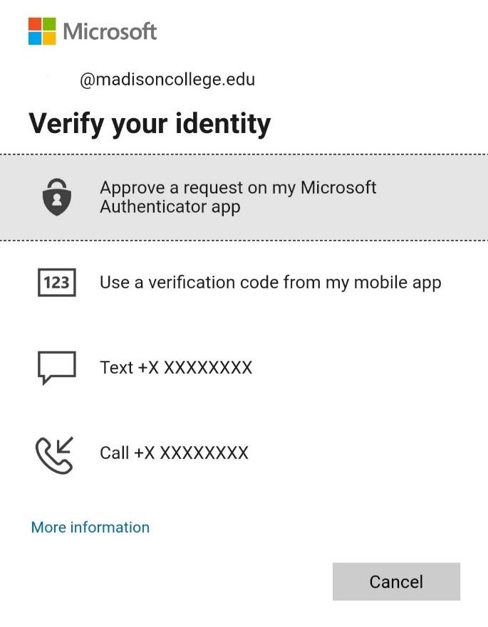 verify your identity
