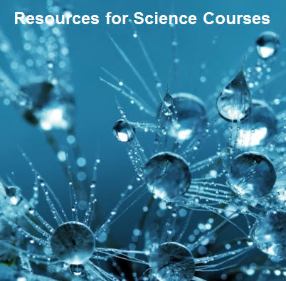 Resources for Science Courses
