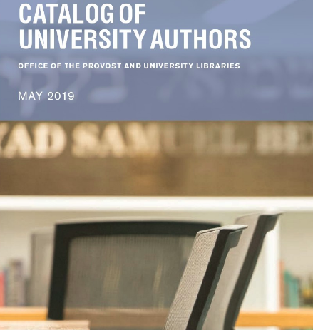 Universitty Authors Catalog 2019