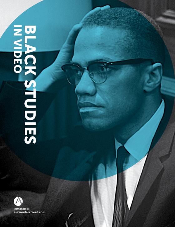 black studies in video logo