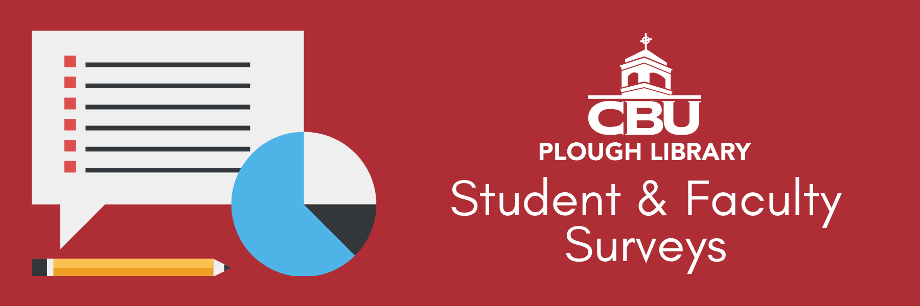 plough library student and faculty surveys