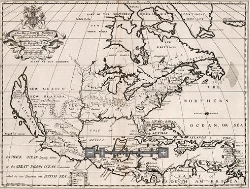 North America 1700