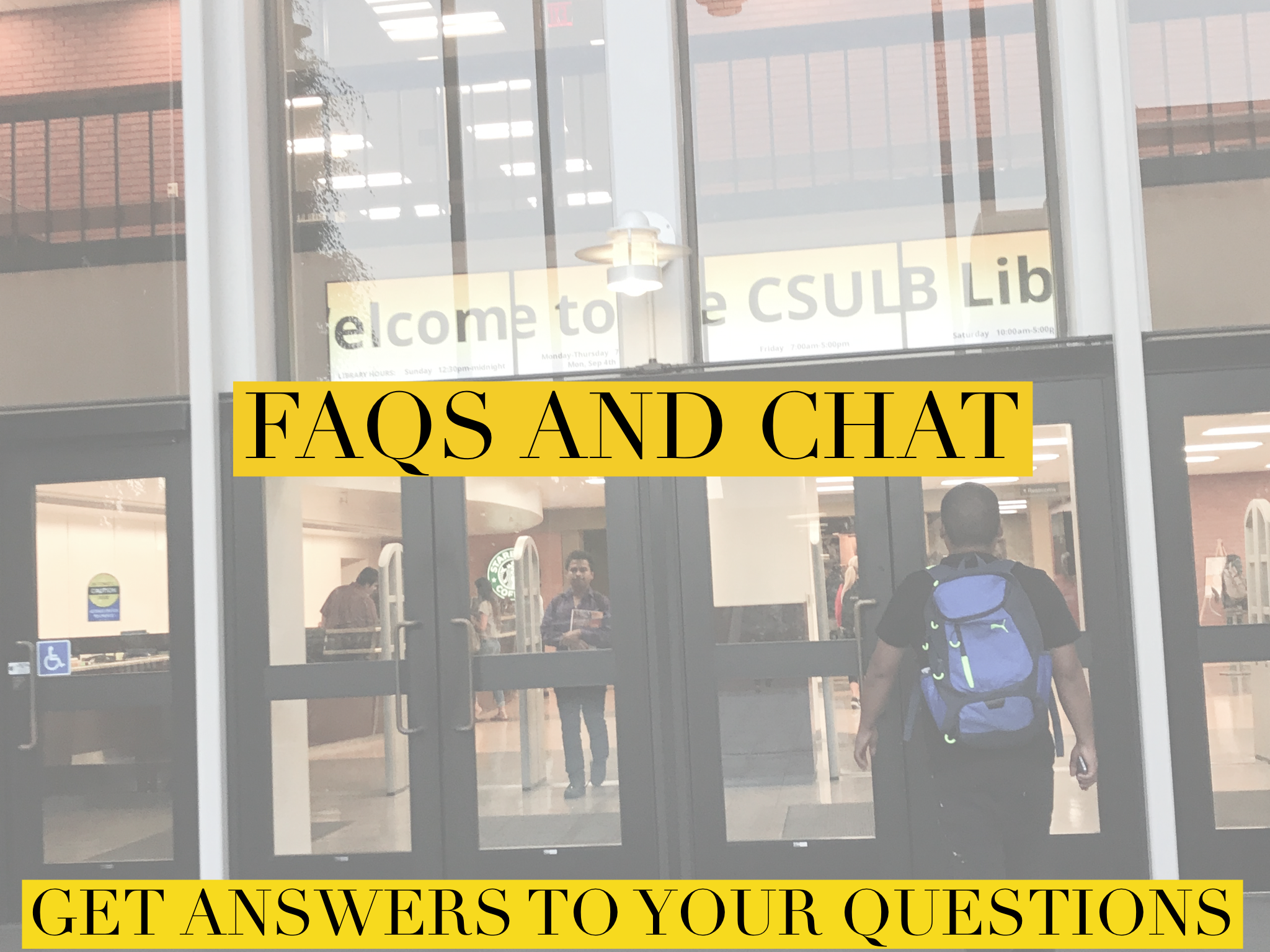 Chat and FAQs