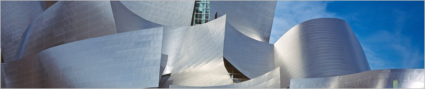 Walt Disney Center Concert Hall by Frank Gehry