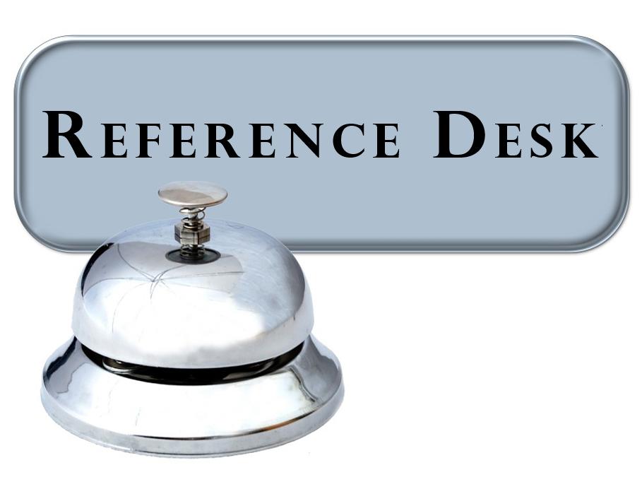 Reference Desk