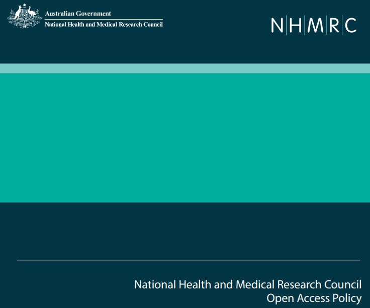 NHMRC Open Access Policy