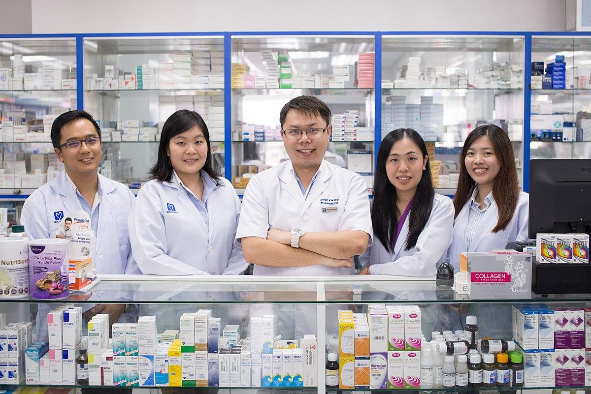 Pharmacy Techs Wikimedia Woonjiawei