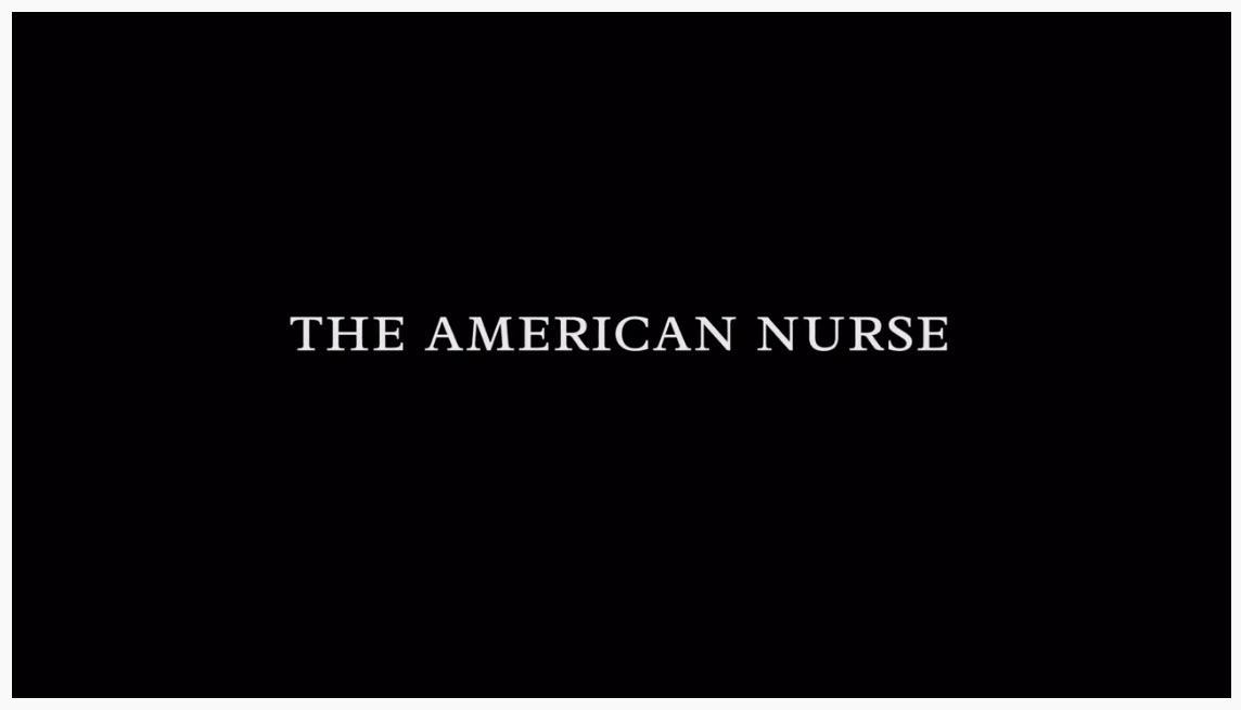 American Nurse title