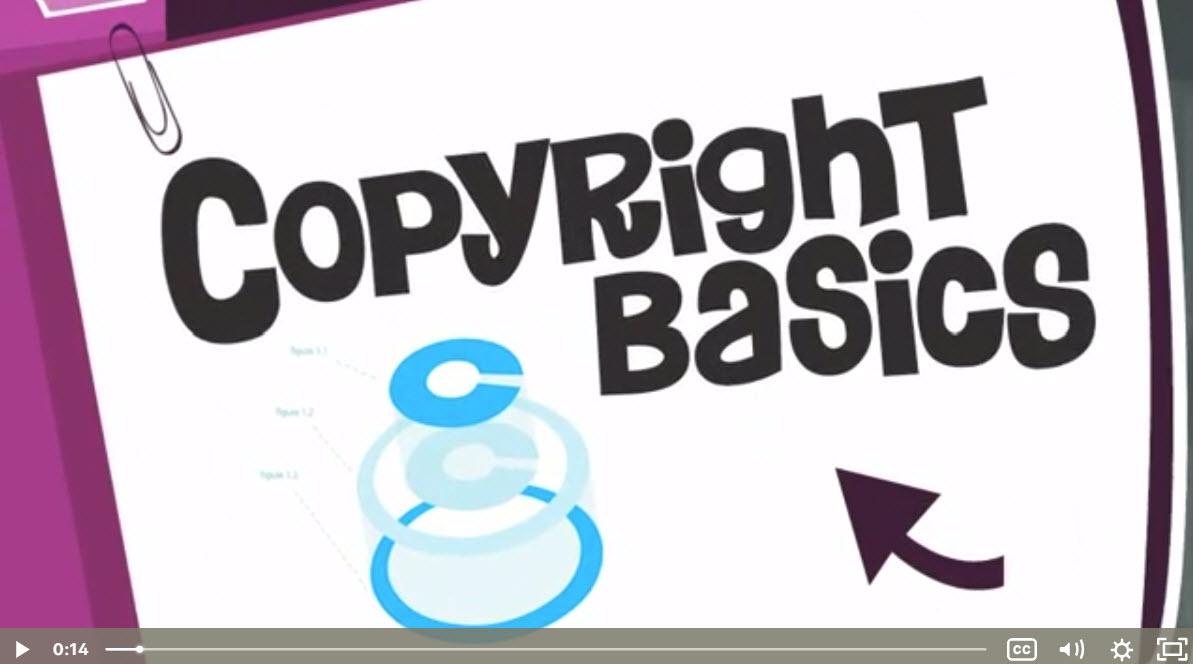 Copyright Basics Title Screen