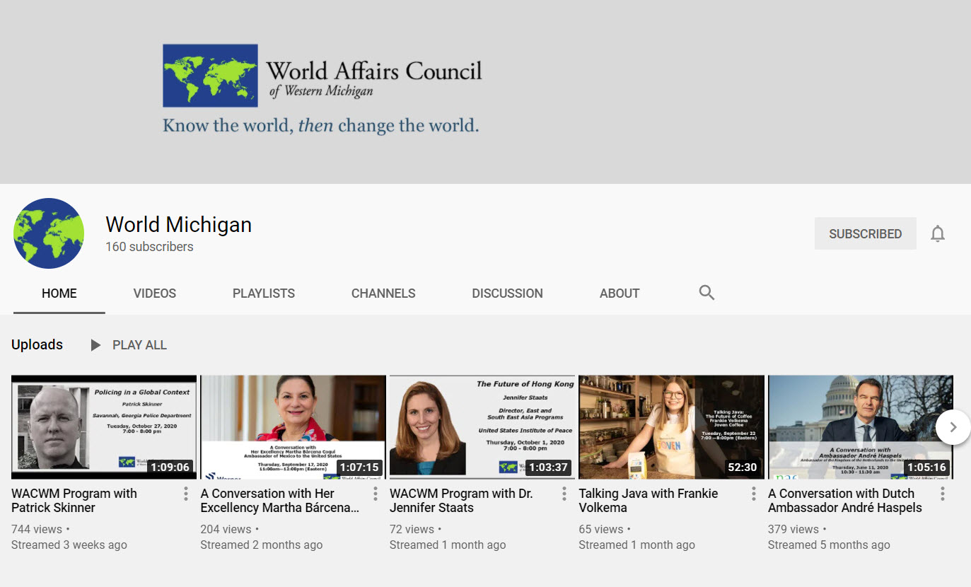 World Affairs Council of West Michigan image