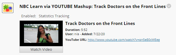 NBC Learn YouTube Mashup