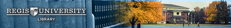 Regis University Library banner