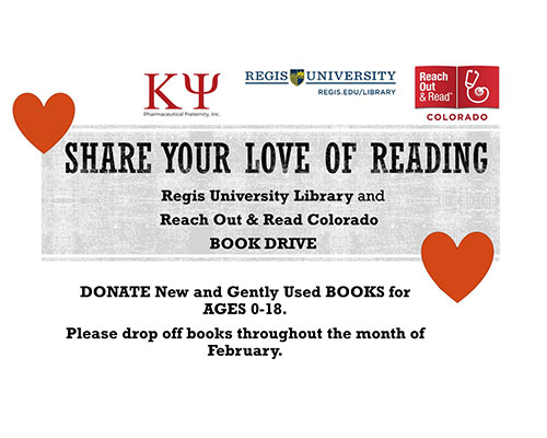 share your love of reading, donate books for ages 0-18