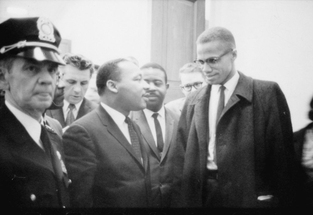 MLK and Malcolm X meet in Washington D.C.