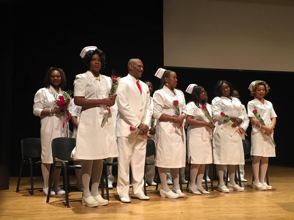 The 2014 graduating Nursing class, standing