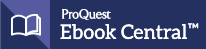 Logo for ProQuest Ebook Central ebook platform.