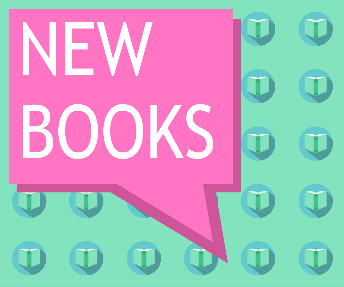 New Books text graphic