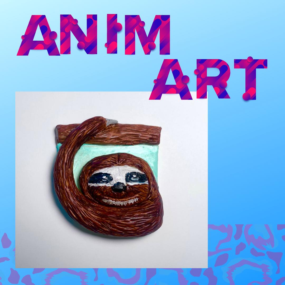 Animart: Clay Sloth