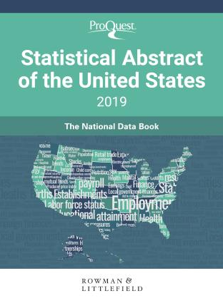 Image of book cover for Statistical Abstract of the United States 2019