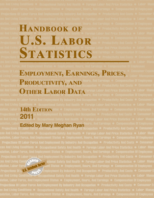 Image of Book Cover for Handbook of U.S. Labor Statistics 2011