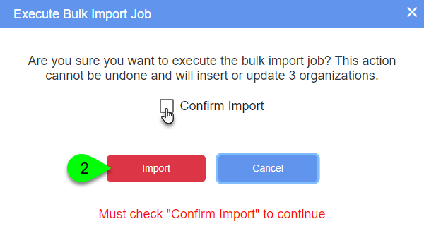 The Confirm Insert prompt