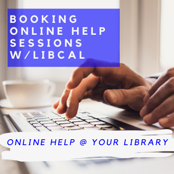 Use LibCal Appointments to Book Virtual Help/Reference Sessions