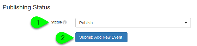Publishing Status options with Publishing Workflow disabled