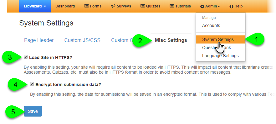 Enabling data encryption