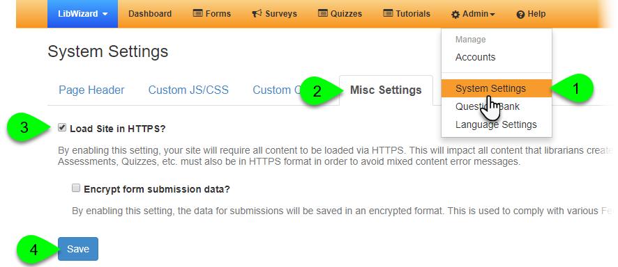 Enabling HTTPS