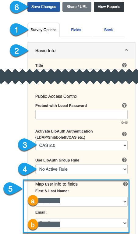 LibAuth authentication options