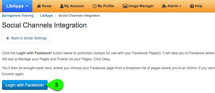 Adding a Facebook social integration, part 2