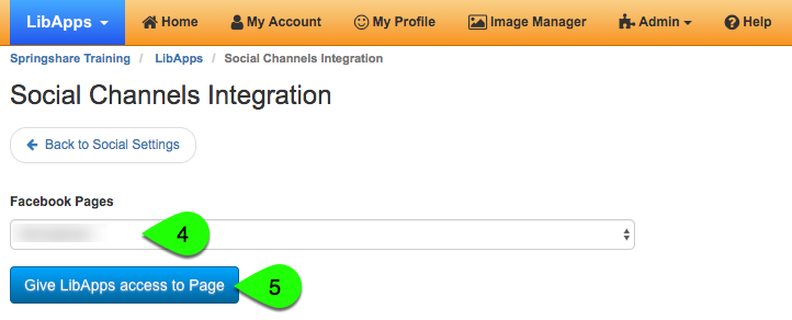Adding a Facebook social integration, part 3