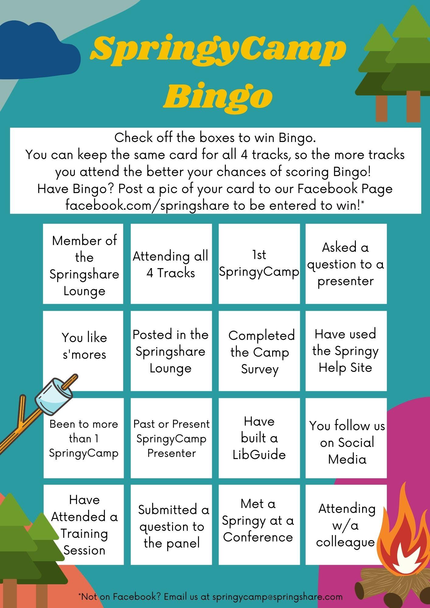 bingo card - click to download