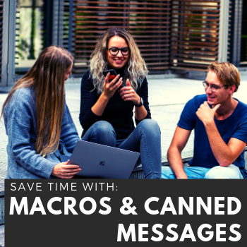 Training Tidbits: Time Saving with Macros in LibAnswers & Canned Messages in LibChat
