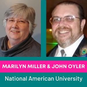 Marilyn Miller & John Oyler, National American University