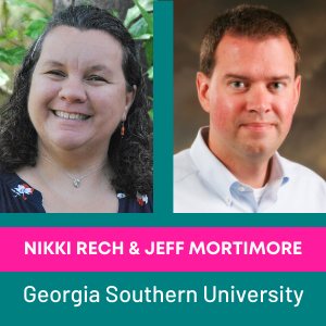 Nikki Rech & Jeff Mortimore, Georgia Southern University