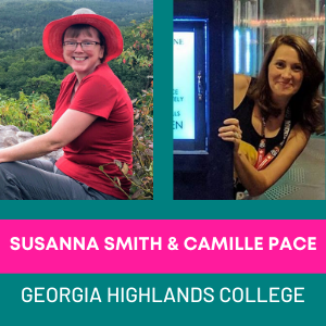 Susanna Smith & Camille Pace, Georgia Highlands College