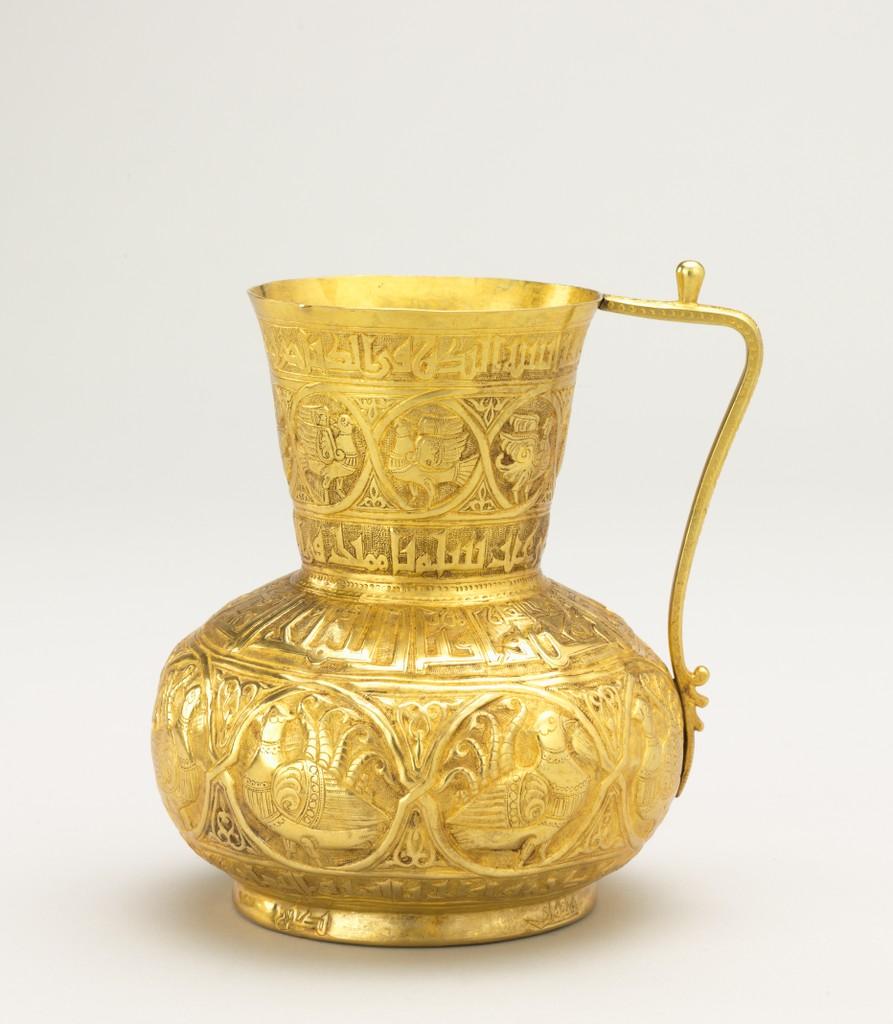 gold jug