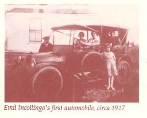 Emil Incollingo's first automobile