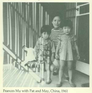 Frances Mu with Pat and May China
