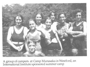 Campers at Camp Munasaka