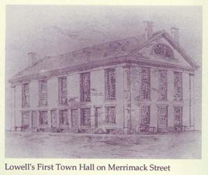 Lowell's First Town Hall
